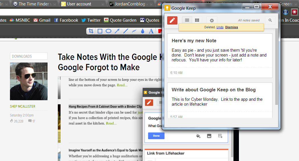 Time-Saving Tip: Try Google Keep to Find Time!