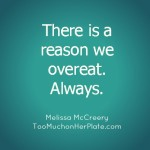 Emotional Eating and You: Feed Yourself What You Need with Melissa McCreery's Timely Rescue Plan