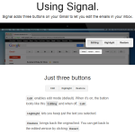 Finding Time by Tweaking Your Gmail Inbox with Signal