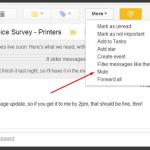 Gmail Mute