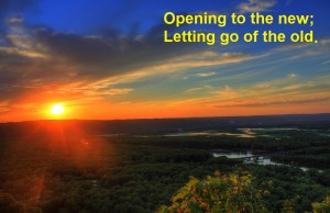 Opening to the sunrise