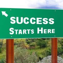 Time Success Sign