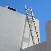 Ladder and Sky