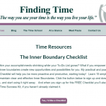 Find Time to Explore the New Time Finder Site!