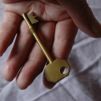 Letting Go Open Hand and Key