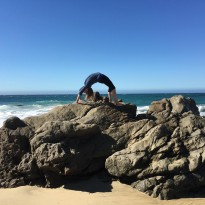 Flexibility on the Beach