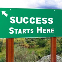 Success Sign-Goal-Setting