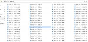 Screen Shot Pictures Folder