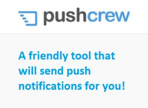 Pushcrew Logo