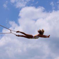 letting go trapeze