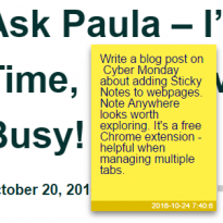 Note Anywhere Looks Like a Real Time-Saver for Chrome Users