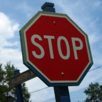 stop sign angry energy