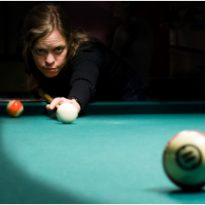 pool player focus