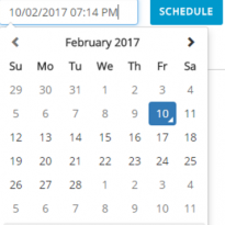 Finesse Schedule Image