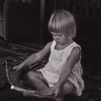 Focus child reading