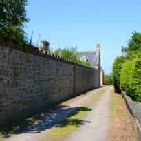 Time Boundary Wall Path