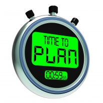 Plan Predictable Change Stopwatch
