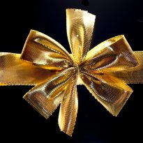 bow holiday gift-giving