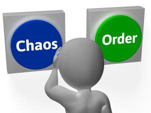 clutter chaos button