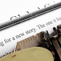 New stories typewriter