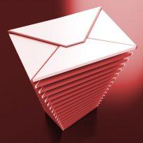 e-mail clutter stress