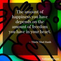 Gratitude Freedom In Heart Quote