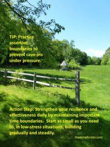 Assertive Time Boundaries