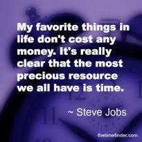Precious time quote