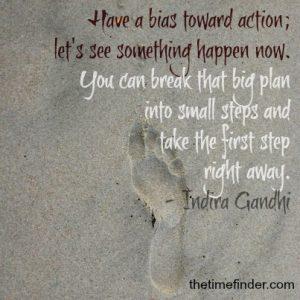 small steps a-day-at-a-time
