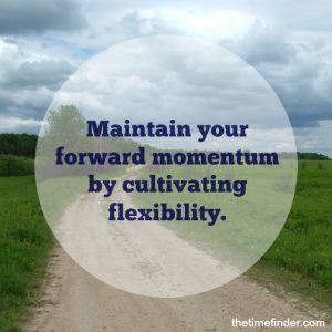 flexibility-letting changes unfold