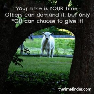 your time is your time
