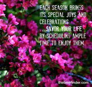 Savor your life