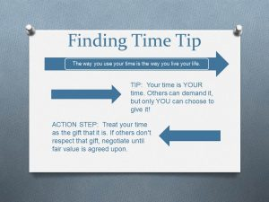 saying no claiming your time