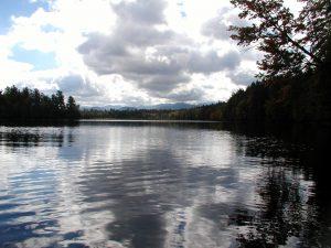 lake mountains feeling grateful
