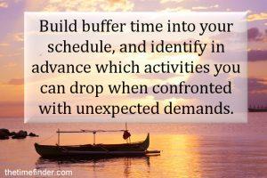 buffer time