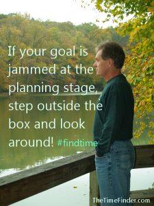 step outside the box