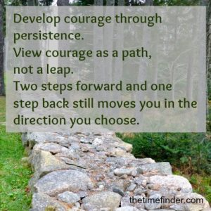 persistence clears clutter