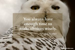 Wise choices - your minutes