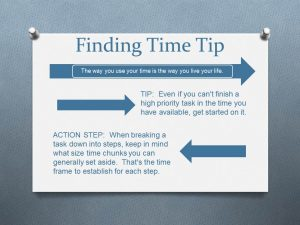 chunking your tasks