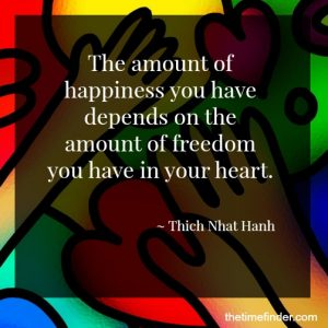 happiness in your heart