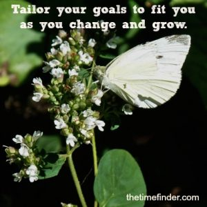 your goals and values